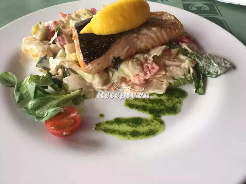 Pečená pražma se zeleninou recept  ryby