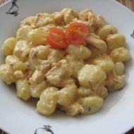 Smetanové houbové gnocchi recept