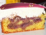 Višňovo-smetanový dort recept