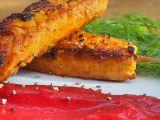 Losos v tandoori koření s řepnou kaší recept