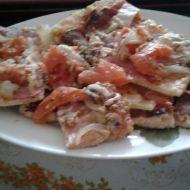 Pizza z listového těsta recept