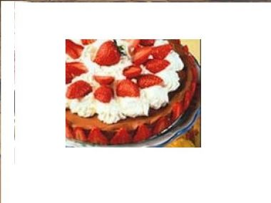 Jahodový koláč od Míny