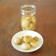 Sterilované cibulky recept
