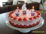 Veselý dortík pro Kristýnku recept