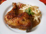 Kuře na jablku a voňavém koření recept