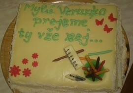 Dort pro učitelku češtiny :-) recept