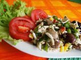 Mexický salát s tofu recept