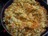 Kroupy s mrkví a kukuřicí recept