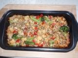 Mozaika s mletým masem a brokolicí recept