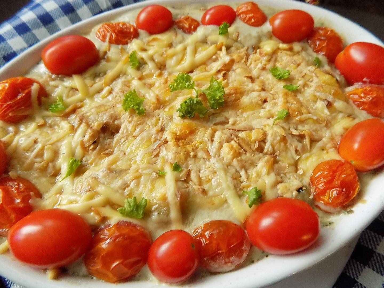 Gnocchi zapečené s žampiony a dvěma druhy sýrů recept ...