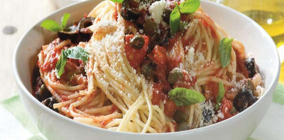 Špagety alla putanesca