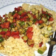 Bulgur s restovanou zeleninou recept