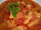 Netradiční dršťková polévka recept