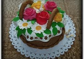 Košíček  dorty recept