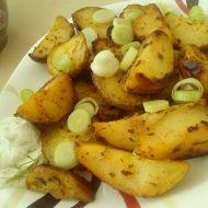Pepřené pečené brambory recept