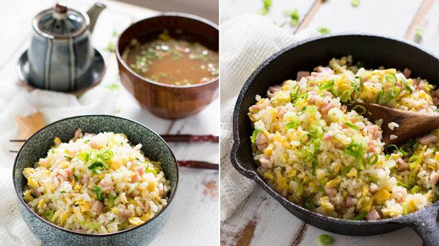 Japonská smažená rýže