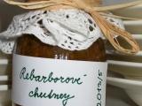 Rebarborové chutney recept