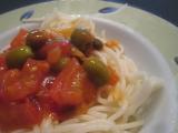 Špagety s olivami recept
