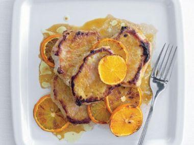 Kotlety v pomerančové marinádě