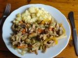 Vepřové na zelenině recept