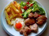 Vepřová panenka a salát recept