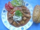 Vepřový guláš III. recept