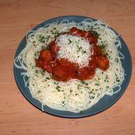 Špagety s kuličkami a omáčkou recept