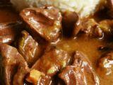 Kachní srdce na cibulce a kmínu recept