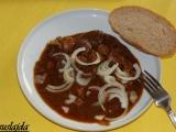 Vepřovo-drůbeží guláš recept