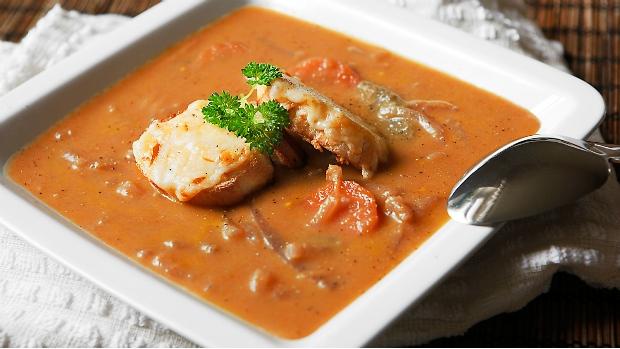 Bretaňská cibulová polévka