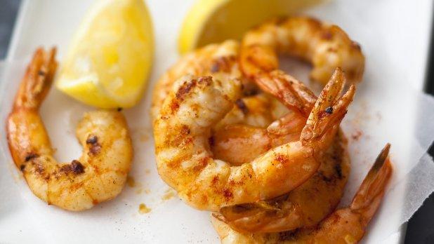 Krevety s uzenou paprikou