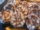 Kakaovo-piškotové plátky recept
