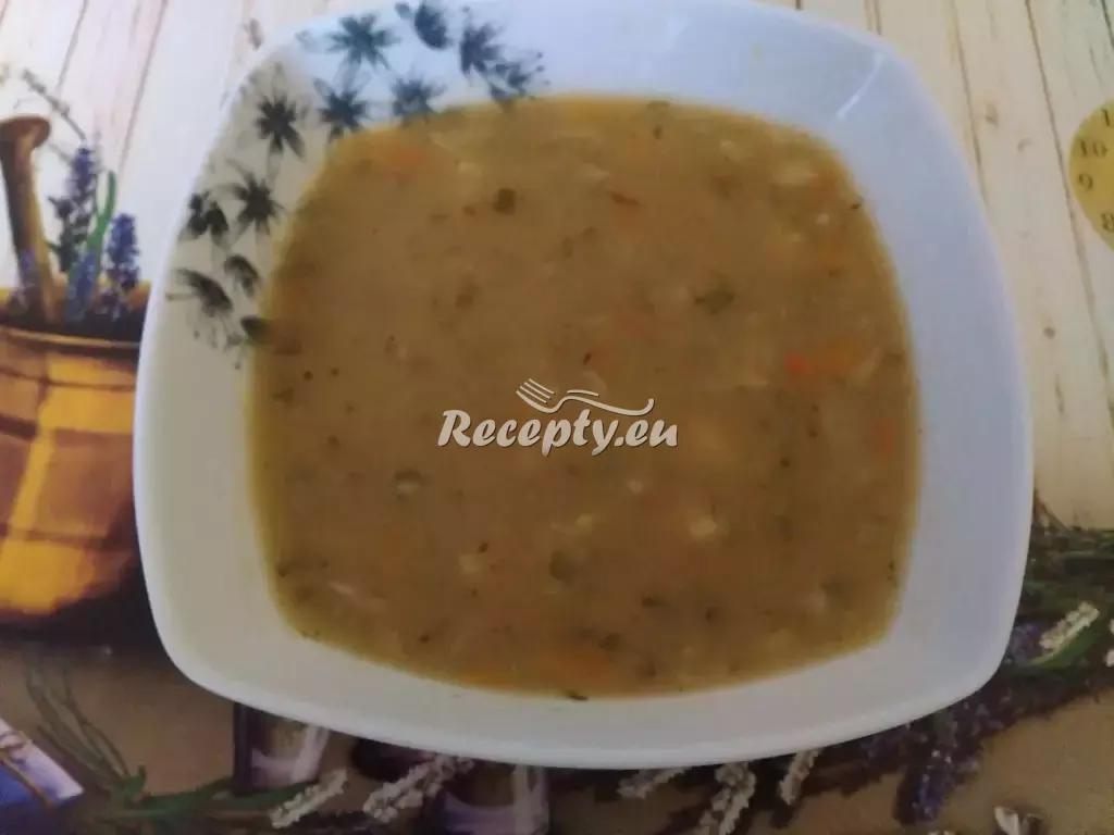 Krémová bramborovo-cibulová polévka recept  polévky