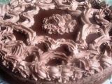 Čokoládovo-marcipánový dort s pařížskou šlehačkou recept ...