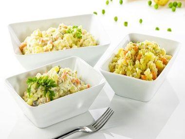 2 tipy na odlehčený bramborový salát