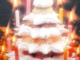 Vánoční stromeček s osvětlením recept