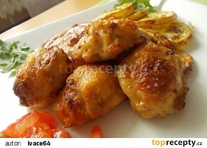 Křídla, plněná kuřecí fáší recept