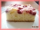 Jogurtový koláč s kokosovou drobenkou recept