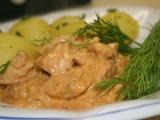 Kuřecí stroganoff a la Inka recept