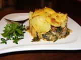 Gratinovaný mangold s bramborami recept