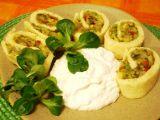 Roláda se zeleninovou náplní recept