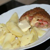 Roláda z mletého masa s hermelínem recept