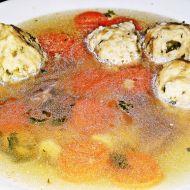 Polévka z kachních drobů s játrovými knedlíčky recept