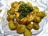 Hermelín na bylinkách s bramborem recept