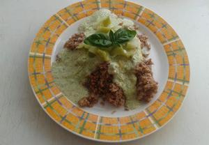 Brokolicové pyré na pohance