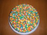 Dort barevný recept