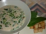 Chlebová polévka s medvědím česnekem a kopřivou recept ...