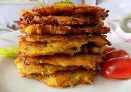 Dýňové bramboráčky se sýrem a slaninou recept