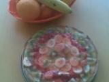 Lehký koláč s tvarohem ovocem recept