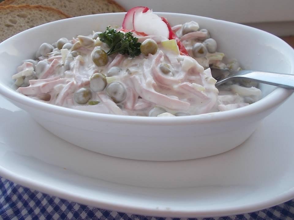 Domácí vlašský salát recept